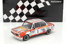 Minichamps BMW 2002 TI WINNER 1000KM OSTERREICHRING 1974 Manhalter #1 1:18*New!