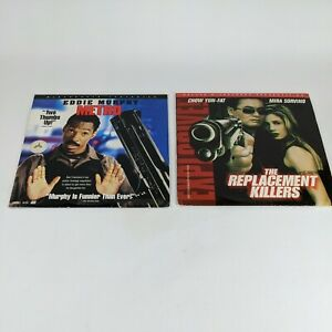 Laserdisc Lot of 2 Movies Metro Eddie Murphy and The Replacement Killers