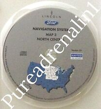 03 2004 2005 FORD EXPEDITION NAVIGATION MAP CD 3 NORTH CENTRAL MN IA MO IL V 2V