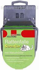 Rattenfalle SuperCat mit Köder SWISSINNO Rattenfallen gegen Ratten Falle Ratte