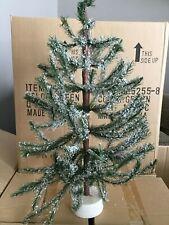 """Dept 56® Village Accessories Snowy White Pine Tree 18"""" - Brand New Still In Box"""