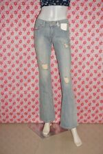 BNWT: LEVI'S 518  Superlow Boot Cut Distressed Jeans