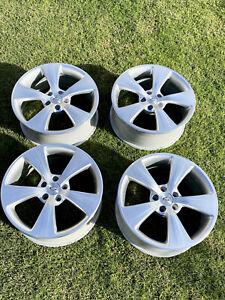 19 Inch Genuine Ford Fpv Ba Bf Fg Silver Argent Wheels