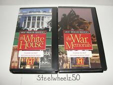 Great American Monuments VHS White House War Memorials