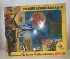 Marx The Lone Ranger THE CARSON CITY BANK ROBBERY mint shop stock action man