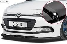 Cup Spoiler Front Ansatz Lippe Schwert für Hyundai I20 GB Hochglanz