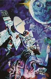 EPCOT Spaceship Earth Poster 13x19  Disney Art Print High Quality B2G1 Free