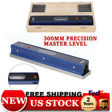 12 Master Precision Level For Machinist Tool 002mmm Usa Carbon Steel