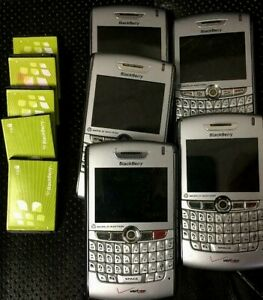 BlackBerry 8830 Lot Of 5 - Silver (Verizon) Smartphone