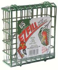 C & S GREEN EZ FILL SUET BASKET BIRD FEEDER, #730                             dm