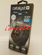 Catalyst Case for Apple Watch Series 5 and Series 4 (44mm) - Stealth Black