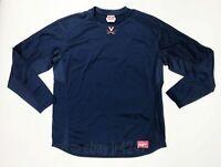 Rawlings Virginia Cavaliers Baseball Fleece Pullover Navy Blue Men's L UDFP3