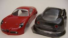 1/10 Scale Alfa Romeo 8c RC Car shell body 200mm tamiya traxxas kyosho FT001