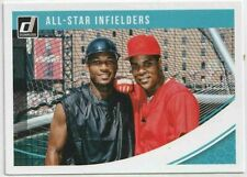2018 Donruss-Gary Sheffield & Barry Larkin #215 All-Star Infielders