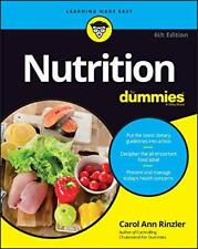 Nutrition For Dummies par Rinzler, Carol Ann Livre de Poche 9781119130246 N