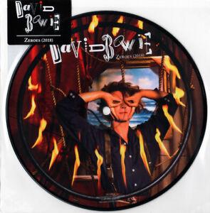 """David Bowie – Zeroes (2018). 7"""" Picture Disc. Mint"""