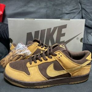NIKE DUNK LOW PRO SB Brown Pack 2003 size US12/UK11/EUR46 From Japan