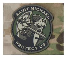 Milspec Monkey MSM Patch Saint St. Michael Protect Us - Modern - MULTICAM PVC