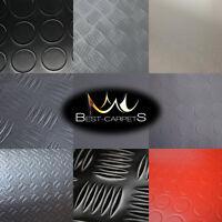 """Vinyl flooring PCV """"SPIRIT 100"""" Width 200 cm rubber grey white black red durable"""