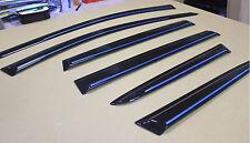 6pcs FORD ESCAPE 2013-2016 KUGA finestra Visiera Sole Ombra Rain Guard Chrome striscia