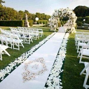 1000 Silk Rose Petals Wedding Party Engagement Flower Favours Decoration (White)