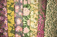 Northcott State Flowers QUILT FABRIC - 7 pcs -  7 yds