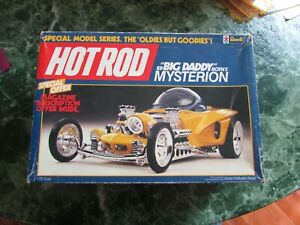 "REVELL BIG DADDY ED ROTH "" MYSTERION."" VINTAGE MODEL CAR. HOT ROD MAGAZINE"