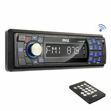 Pyle PLMR17BTB InDash Marine Stereo USB/SD AM/FM Player W/Bluetooth & Remote