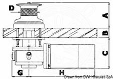 LOFRANS Winde Capstan Super 1500W 12V