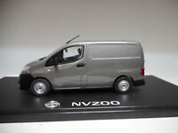 NISSAN NV200 VAN DARK GREY ELIGOR 1:43