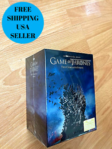 Game of Thrones: The Complete Series DVD ( Seasons 1-8) BOX SET US FREE SHIP