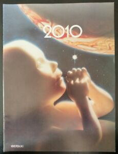 2010, Official Movie Program Souvenir (1984) Good Condtion