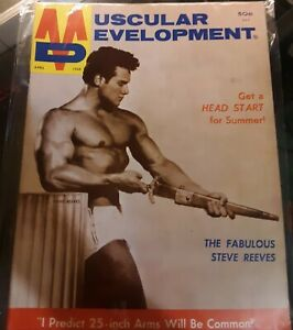 MUSCULAR DEVELOPMENT 1968/STEVE REEVES