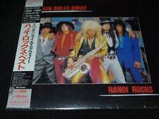 Million Miles Away Hanoi Rocks  JAPAN LTD MINI LP K2 CD SEALED