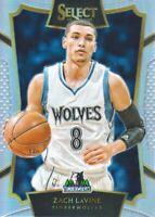 2015-16 Select Prizms Silver #90 Zach LaVine CON Minnesota Timberwolves
