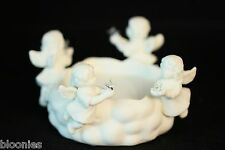 Partylite 4 Angels Holding Stars Candle Holder