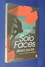 SOLO FACES James Salter BOOK Fiction