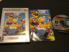 The Simpsons Hit & Run PS2 Play Station 2 Pal ESPAÑOL