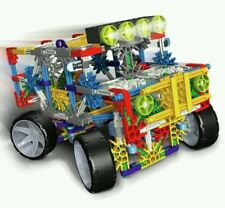 K'NEX 4 Wheel Drive Battery Operated Truck Building Set Age 7+