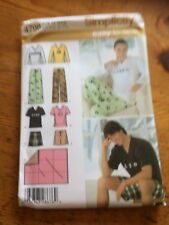 Simplicity Easy to Sew Pants+ paper sewing pattern. New & Uncut 4798 size xs-m