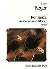 REGER ROMANCE G Violin