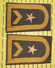 Bundeswehr Schulterklappen Marine Fähnrich zur See gold oliv KLETT ##54
