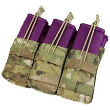 Condor Multicam MA44 MOLLE HOLD 6 Double Stack 5.56 .223 Open Top Magazine Pouch