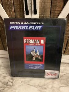 New, Sealed,   Pimsleur GERMAN III, Level 3, Language Program 16 CD's
