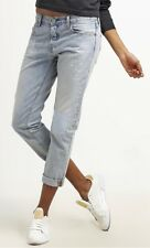 BNWT Levis 501 CT Women's Button Fly Tapered Cropped Light Blue Jeans 29W x 32L