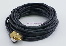 TRAM 2251 NMO Mount 17ft RG-58 Coax No Conn 1GHz Free Weather Cap Sold by W5SWL