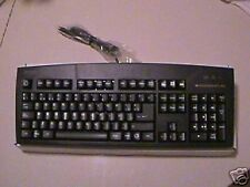 Spanish Espanol Black Keyboard Teclado PS2 PS/2 Foreign Keyboard Spain Mexico