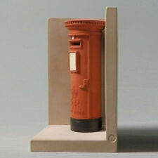 Red London Post Box Single Bookend