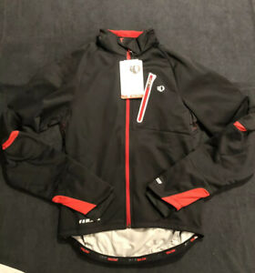 New $225 Men's Small - Pearl Izumi - P.R.O. Softshell Jacket - #11131011 Black