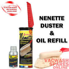 ORIGINAL NENETTE CAR DUSTER MOP & NENETOL OIL REFILL - BODYWORK INTERIOR DUSTER